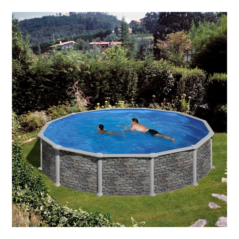 Stunning piscine hors sol gre x cm ronde loading zoom with stickers piscine hors sol - Stickers piscine pas cher ...