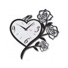 Clock Flower heart