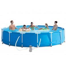 Pack inflatable pools (H: 83cm x Ø: 457cm) + accessories
