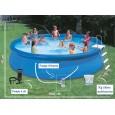 Pack piscines gonflables (H:83cm x Ø:457cm) + accessoires