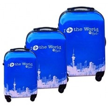Set de 3 valises coque rigide ITTW