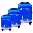 Set de 3 valises coque rigide ITTW