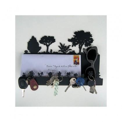 Porte-clés, porte-courrier Auguste