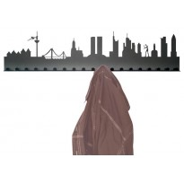 City coat rack design Frankfurt