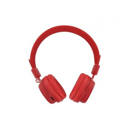 BEEWI Bluetooth + filaire casque rouge