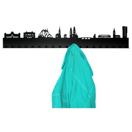 City coat rack design Zurich