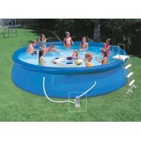 Pack inflatable pools (H: 122cm x Ø: 457cm) + accessories