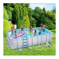 Tubular Pool Pack  (L: 5.49 m x l: 2.74 m x H: 1.22 m) + accessories