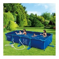 Tubular Pool Pack  (L: 4,57 m x l: 2,13 m x H: 0,84 m) + accessories