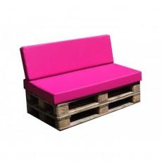Pack coussins pour canapé palette