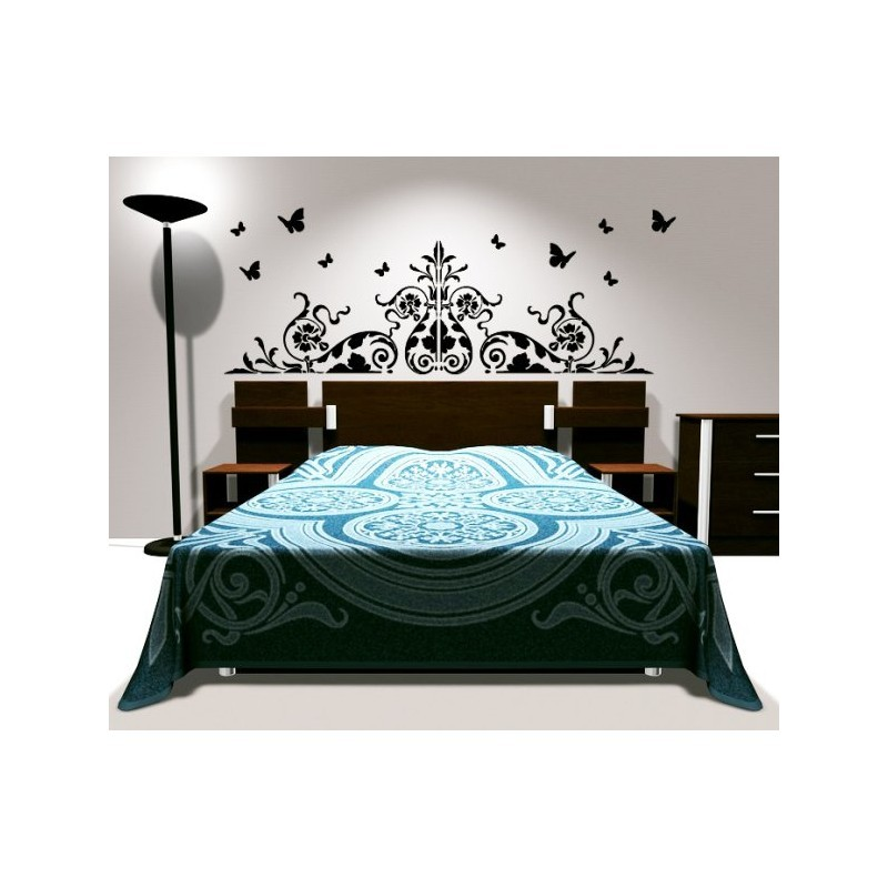 stickers baroque tete de lit best tete lit baroque tete. Black Bedroom Furniture Sets. Home Design Ideas