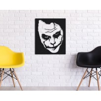 Tableau déco en acier Joker