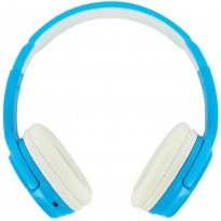 BEEWI Bluetooth + filaire casque bleu ciel