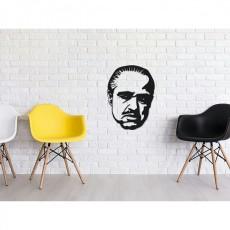 Tableau déco en acier Marlon Brando