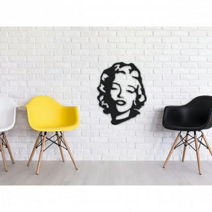 Tableau déco en acier Marilyn Monroe