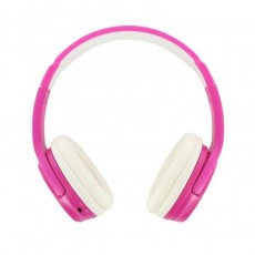 BEEWI Bluetooth + filaire casque rose