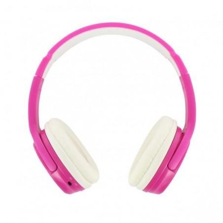 BEEWI Bluetooth + filaire casque rose