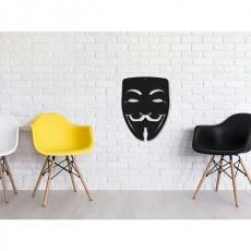 Tableau déco en acier V pour Vendetta