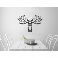 Metal wall art Deer head