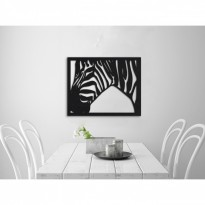 Metal wall art Zebra