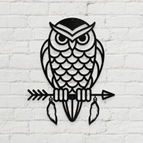 Metal wall art Owl