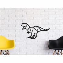 Tableau déco en acier Dinosaure 2