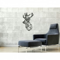 Metal wall art Deer head 2