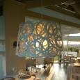 Lampe suspension / contemporaine / en acier galvanisé  laqué IDDA