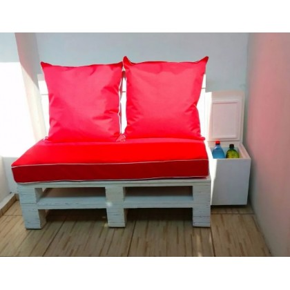 Petit fauteuil en palette