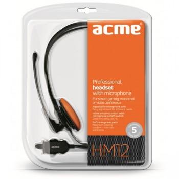 Casque professionnel avec Microphone ACME HM12