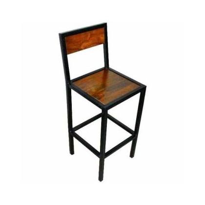 Chaise de bar carré
