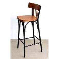 Chaise de bar industrielle Zellige