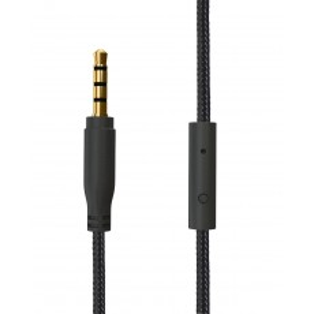 CASQUE ACME HA08B SATURUN Light headphones + cable +mic noir