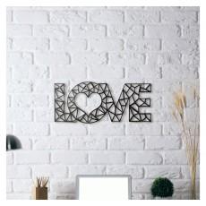 Metal wall art Love