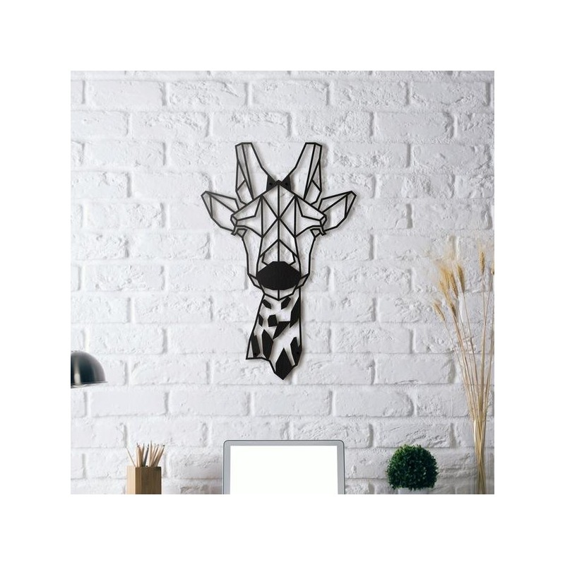 Metal wall art Giraffe  sc 1 st  Packtoo & Metal wall art Giraffe - Packtoo