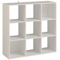 Étagère meuble contemporain blanc