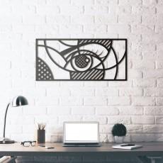 Tableau déco en acier Hypnose