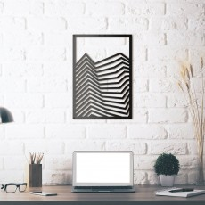 Tableau déco en acier Art-lines