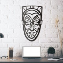 Metal wall art Mask of captivity