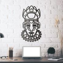 Metal wall art Mask of salvation