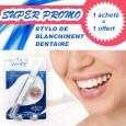 Stylo de blanchiment des dents - DAZZLING WHITE