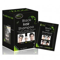 Black hair shampoo  | Shampoing anti cheveux blanc