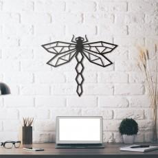 Tableau déco en acier Dragonfly