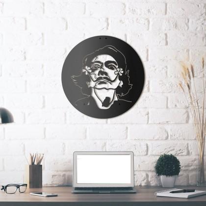 Tableau déco en acier Salvador Dali