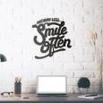 Tableau déco en acier Smile Often