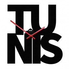 Horloge décoratif design Fuseau horaire