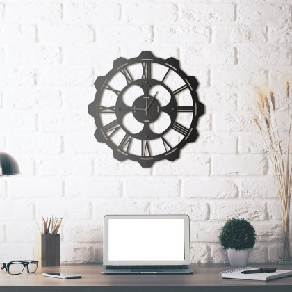 Horloge en métal Clover