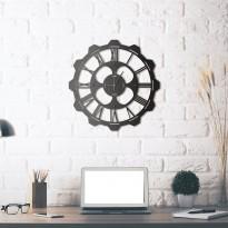 Horloge mural en métal Clover