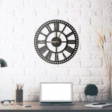 Horloge en métal Rail