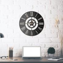 Horloge mural en métal Europe